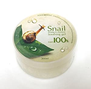 [FOOD A HOLIC] Snail Firming & moisture Soothing Gel 300ml / purity 97% / Korean Cosmetics