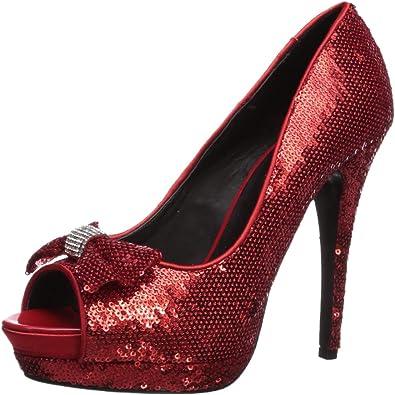 The Highest Heel Womens Wizard of Oz Dorothy Pump