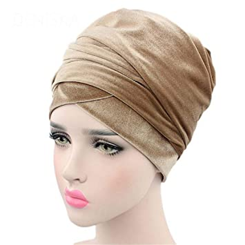 Velvet Magic Turban Hijab Head Wrap Extra Long Tube Indian Scarf Tie 18 Size fits all