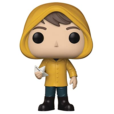 Funko POP! Movies: IT Georgie with Boat Collectible Figure, Multicolor: Toys & Games