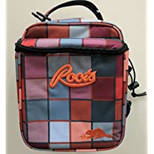 Roots 73 Insulated Lunch Box with 3 Containers and 1 Ice Pack (Plaid)