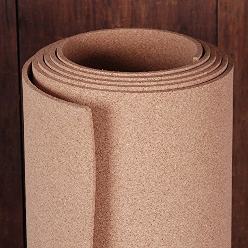 Natural Cork Roll 4' x 12' x 1/4'' by Manton Cork