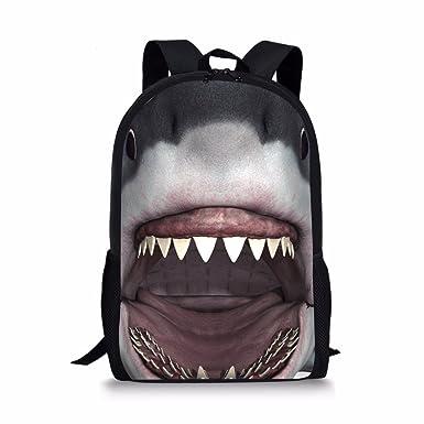 Amazon.com | Coloranimal Cool Animal Backpack Children School 3D ...