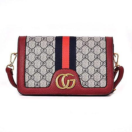 34b552c650 KALOY Women 2018 Ladies Fashion Printing Small Party Bag Mini Shoulder Bag  Messenger Messenger Bag (Red)  Amazon.co.uk  Kitchen   Home