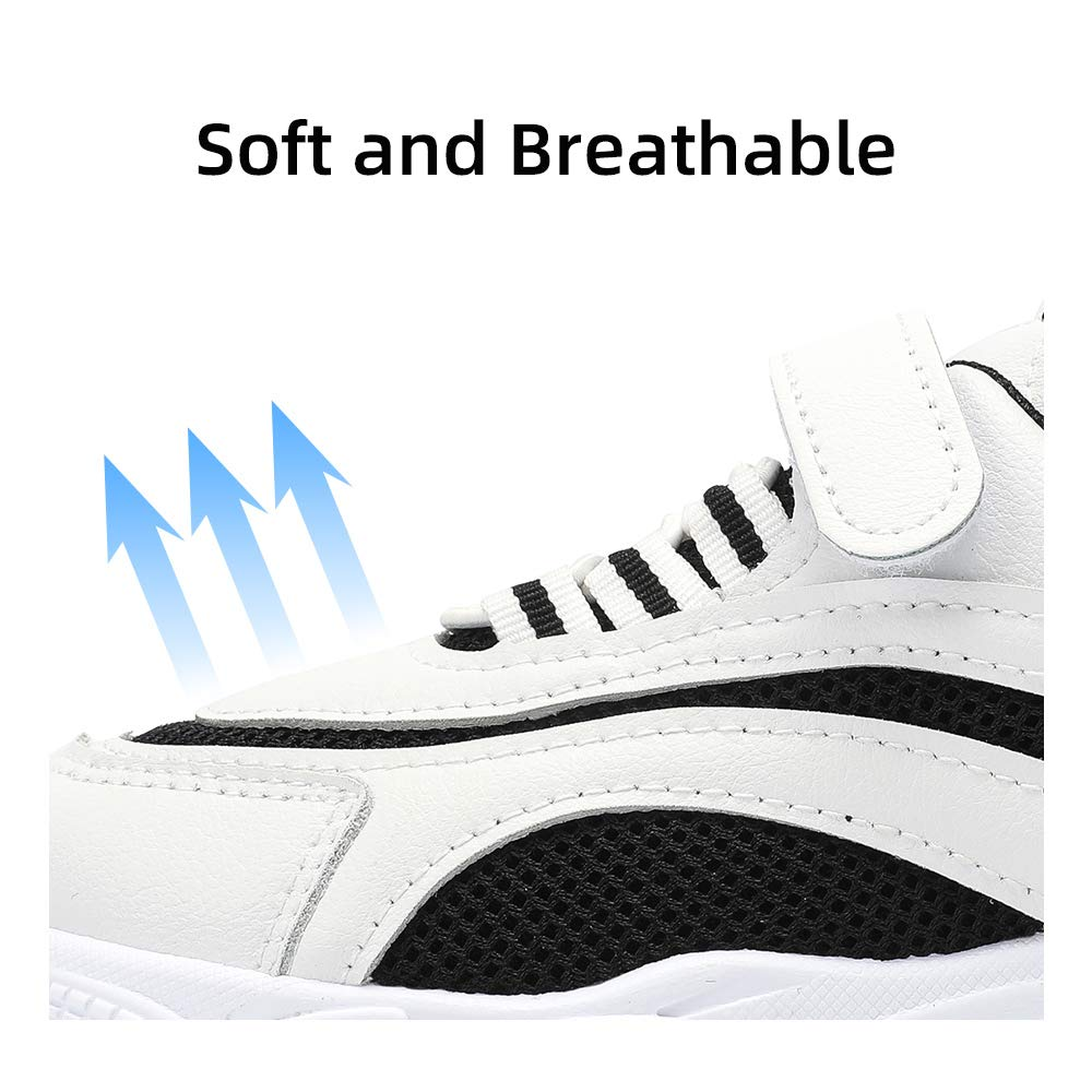 Kids Pre School Sneakers Slip-On Boys//Girls Tennis Running Shoes