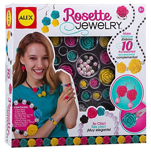 ALEX Toys Do-it-Yourself Wear Rosette Jewelry Kit