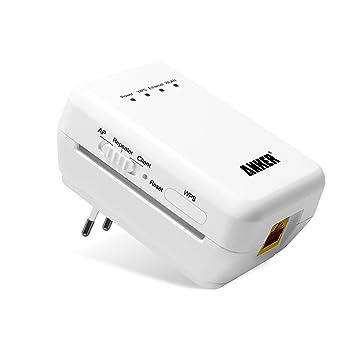 Anker® Wireless-N Repetidor Compacto, WiFi Punto de Acceso & Amplificador & Extensor