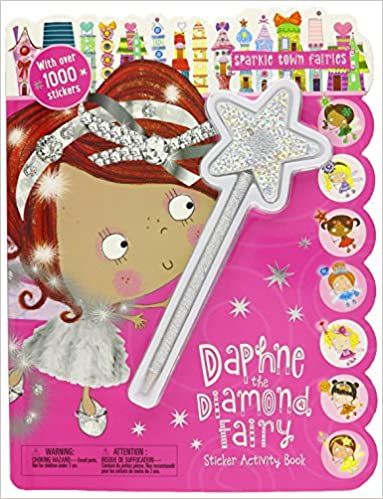 170415dd3 Sparkle Town Fairies Daphne the Diamond Fairy Sticker Activity Book: Make  Believe Ideas Ltd, Lara Ede: 9781785986796: Amazon.com: Books