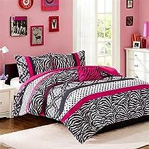 Mi Zone Reagan 4 Piece Comforter Set Pink KingCal King
