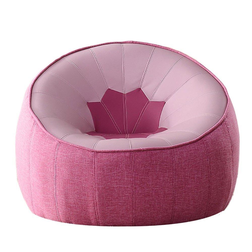 Pink HTZ Single Sofa Sofa Sofa Chair Bedroom Lazy Sofa Lounge Chair ...