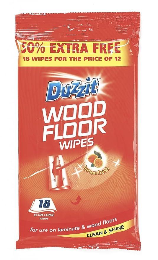 Duzzit toallitas para suelos de madera (lote de 18 425721)