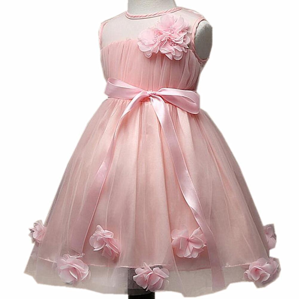 Wgwioo Las Muchachas De Flor Vestido Ropa De Niños Princesa ...