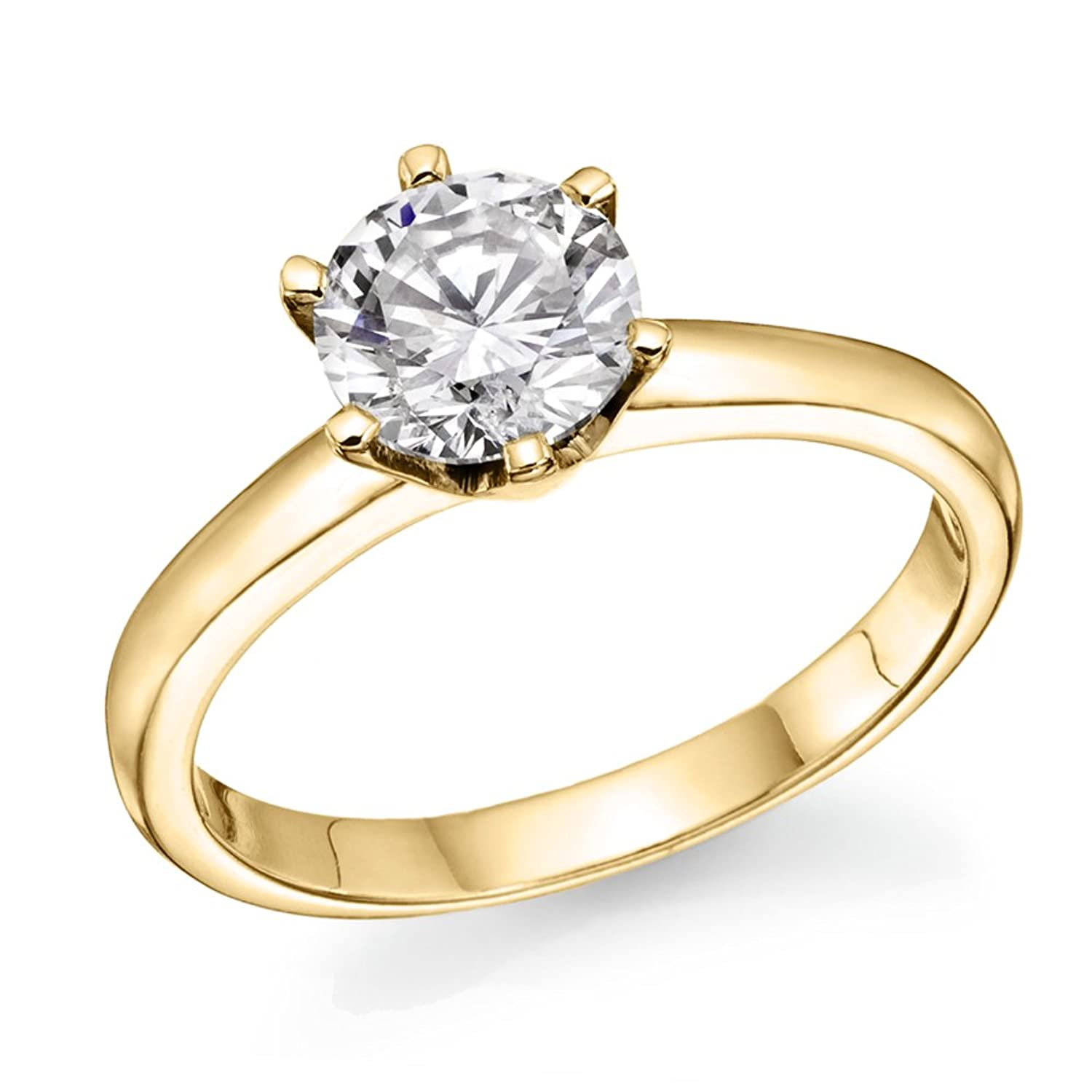 diamond gold ring dsc engagement cluster aks ref diamonds rings