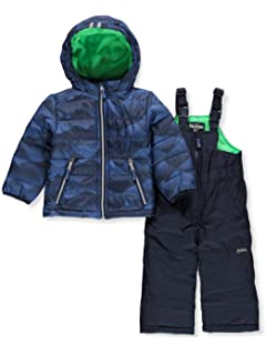 5d130fca8 Amazon.com  Rothschild Baby Boys  Flap Pocket Snowsuit