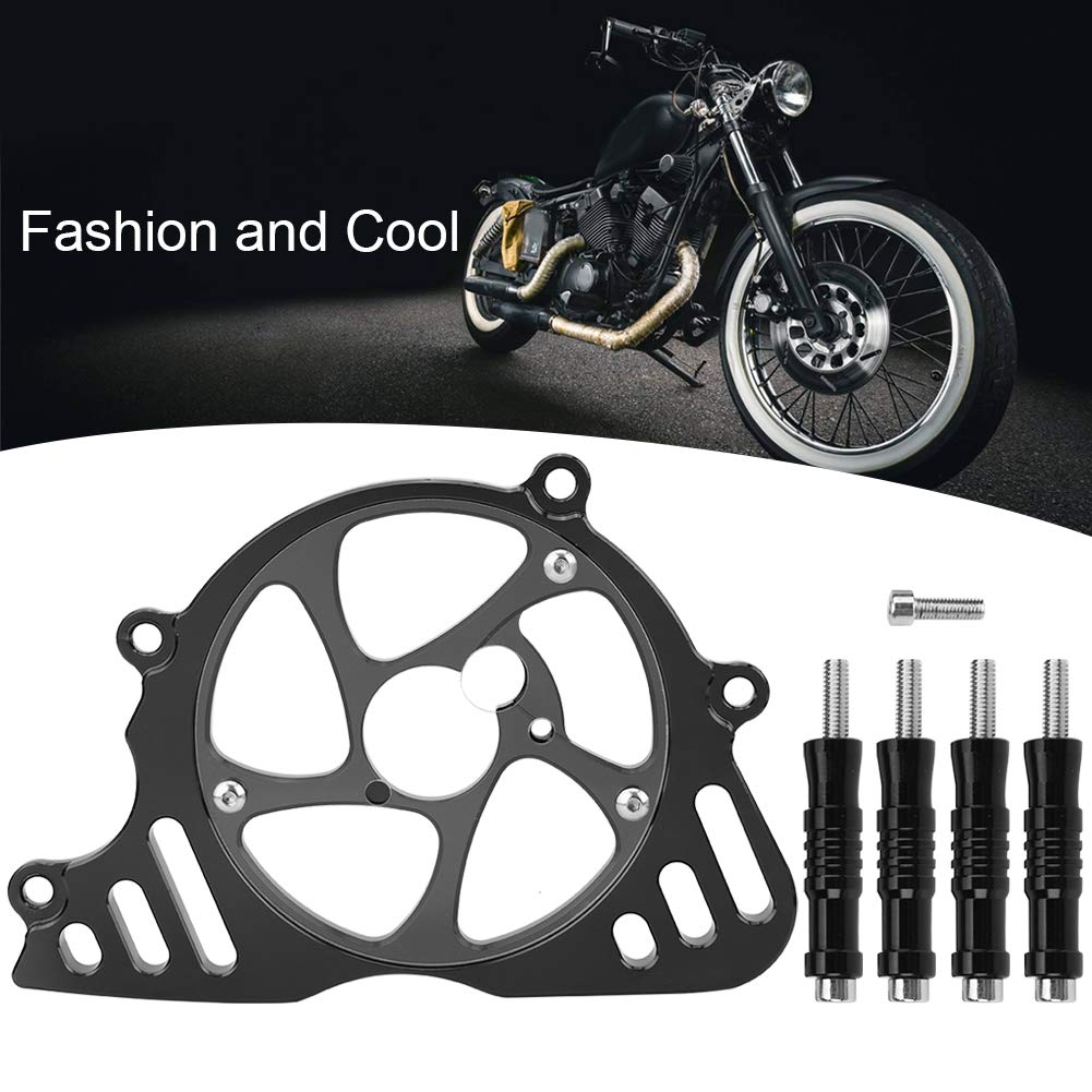 verde KIMISS Protezione della copertura della protezione della catena del pignone del motociclo anteriore per Z1000 2010-2018