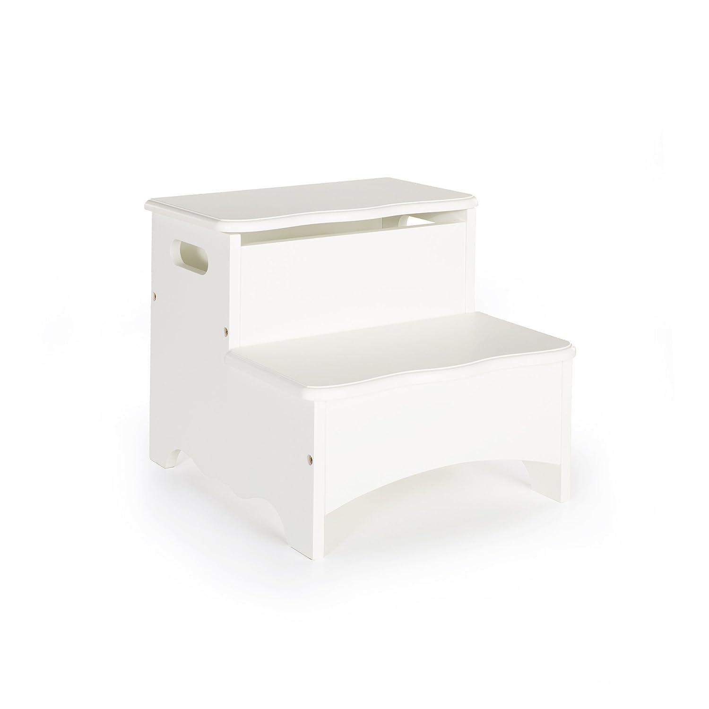 Guidecraft Classic White Storage Step-Up G85706 [並行輸入品] B006OJLA78