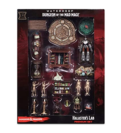 D&D Icons of the Realms: Waterdeep: Dungeon of the Mad Mage – Halaster's Lab Premium Set