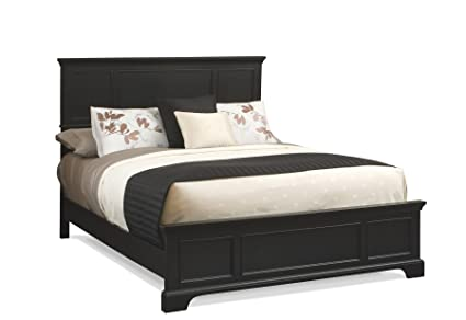 Amazon.com: Home Styles 5531-600 Bedford Bed Frame, King, Black ...