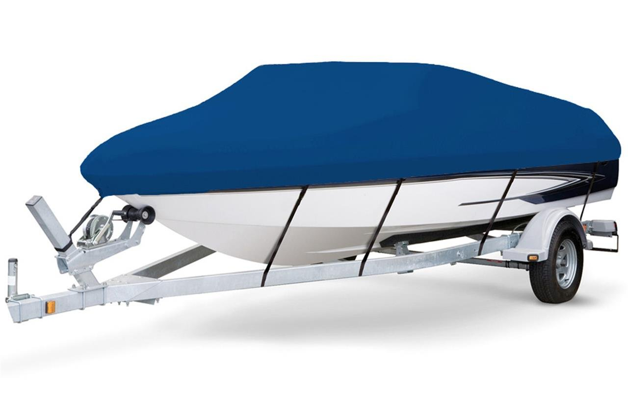 7 oz Solution Dyed Polyester Blue, Styled to FIT Boat Cover for Monterey 197 Blackfin 2015-2016 by SBU-CV
