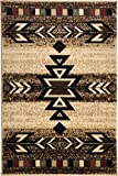Rustic Lodge, Southwestern 2×3 Area Rug, 26″x39″ Multi 7611 Review