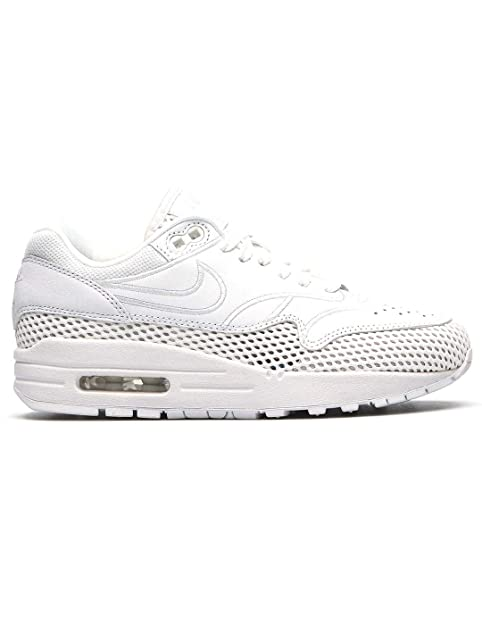 Zapatillas NIKE Air MAX 1 White/White 37 5 Blanco: Amazon.es: Zapatos y complementos