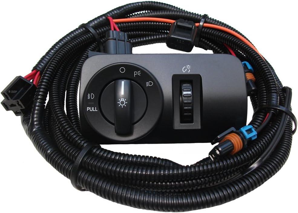 Amazon.com: 2005-2009 V6 Mustang Fog Light Wiring & Switch Kit: AutomotiveAmazon.com