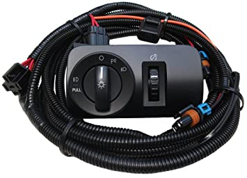 61cmfXsFblL._SX355_ amazon com 2005 2009 v6 mustang fog light wiring & switch kit 2003 ford ranger fog light wiring harness at bayanpartner.co