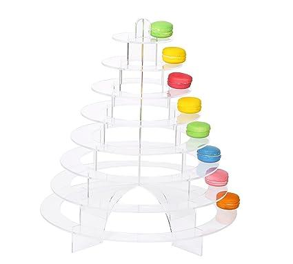 Amazon.com | Acrylic Sweet Stands Macaron Tower Display Stand ...