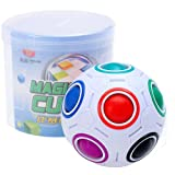 Ball Cube Rainbow Puzzle Magic Intelligence Toy Speed Cube Fun Fidget