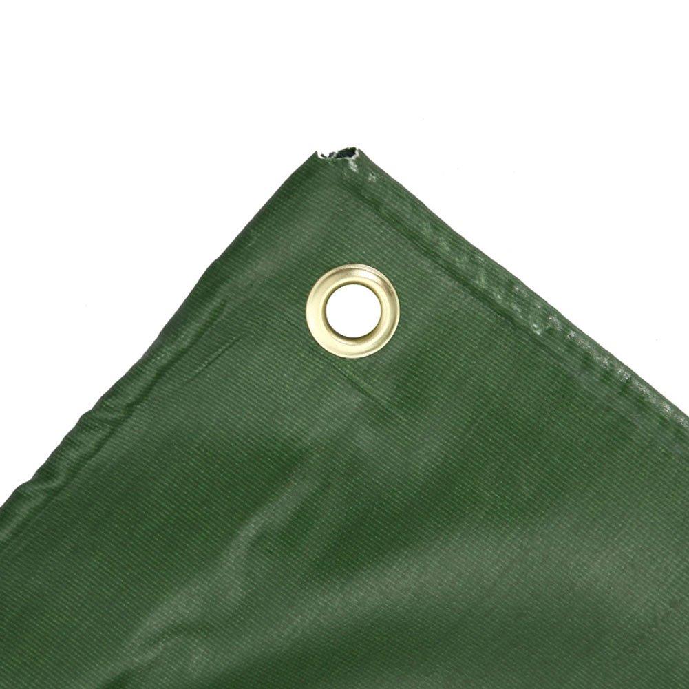 CAOYU Plane gepolsterte Wasserdichte Sonnencreme Zelt Zelt Tuch Schuppen Schuppen Tuch Tuch Abriebfest Anti-Oxidation leichte PVC grün 0c8659