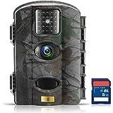 Artitan Fotocamera Caccia 12MP Macchine Fotografiche da Caccia Scouting Camera con Infrarossi Visione Notturna 64ft 940nm IR LED Impermeabile IP65 Schermo LCD 2.4 con scheda MicroSD da 8GB