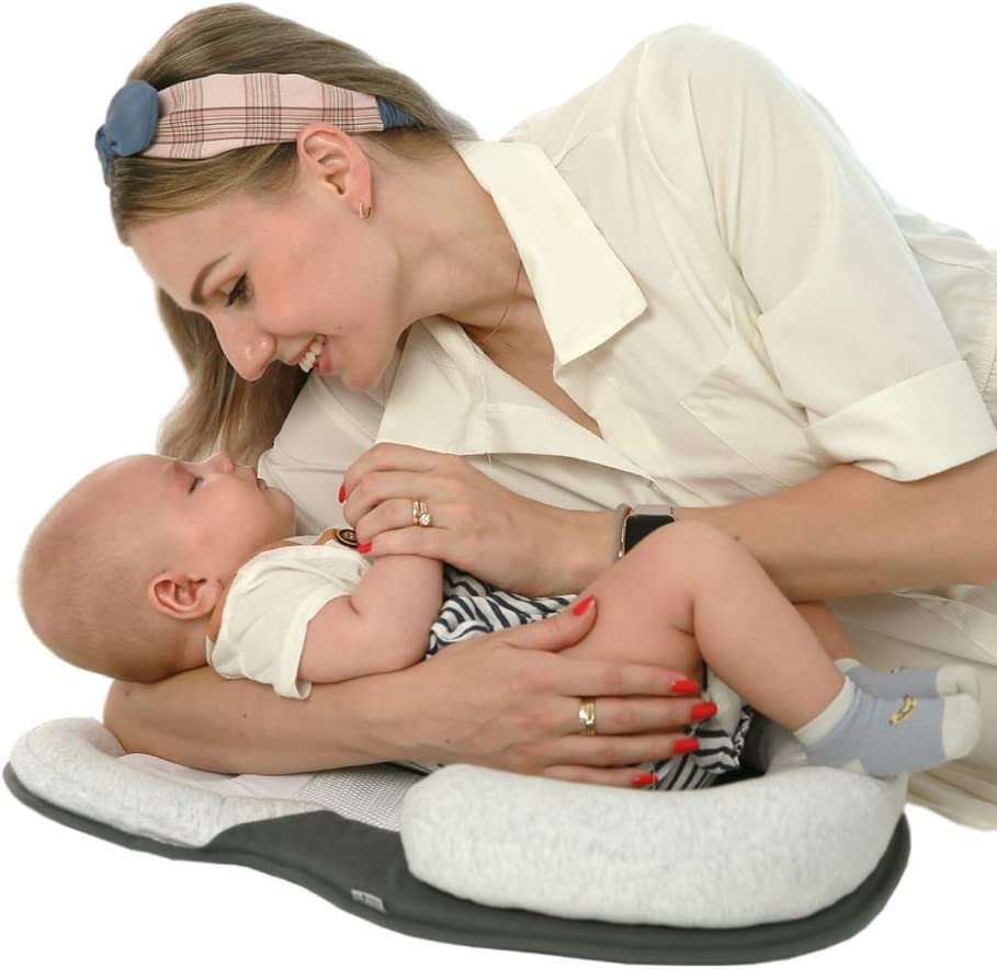Portable Baby Bed Heartbeat Newborn Lounger Baby Pillow Best Baby Beds for Crib