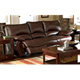 Coaster Home Furnishings Casual Motion Sofa, Dark Brown