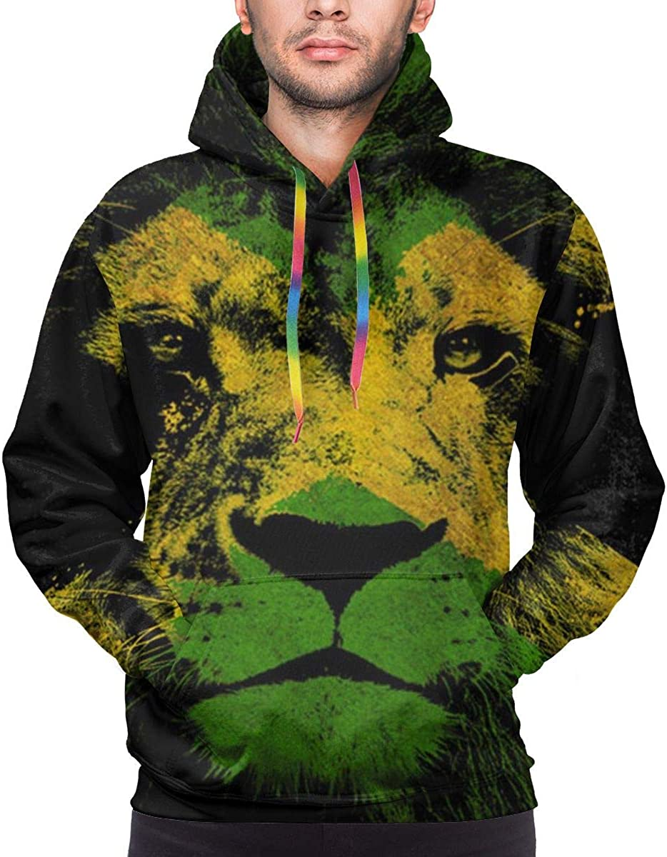 YongColer Pullover Hooded Sweatshirts for Boys Mens Funny Cool Outwear