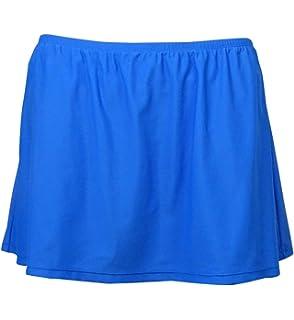 05ebd6ec384 Island Escape Plus Size Swim Skirt Bikini Bottom Bathing Suit (18W, Blue)
