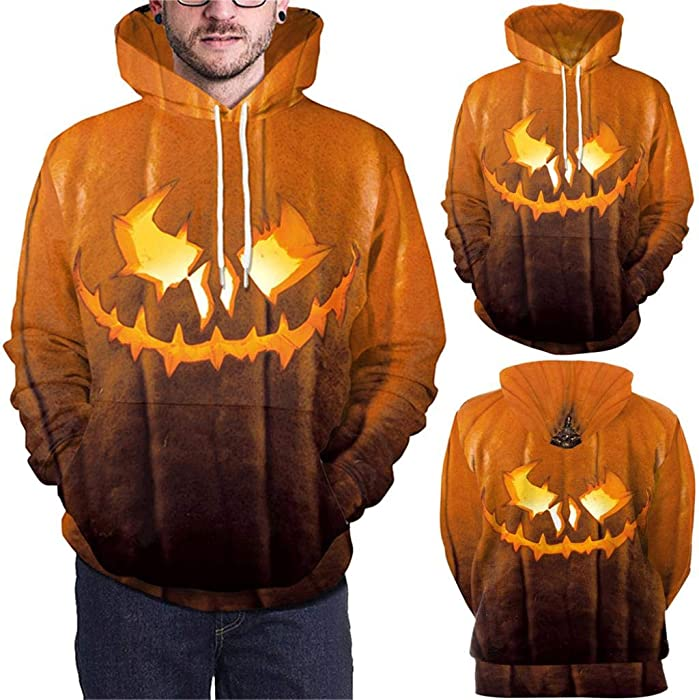 Smart Latest Halloween Horror Pumpkin Fashion 3d Hoodies Sweatshirts Men Women Hoodie Hoody Casual Long Sleeve 3d Hooded Pullover Tops Special Summer Sale Men's Clothing