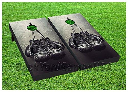 Boxing Gloves Custom Cornhole Boards Beanbag Toss Game W Bags Boxer Set 343