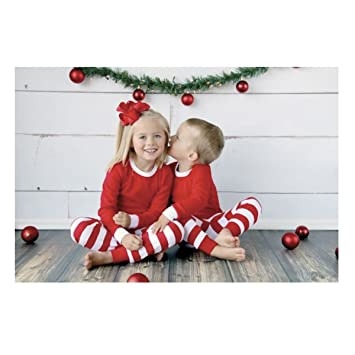 baby toddler christmas pajamas red and white stripe pajamas multiple sizes 9 - Christmas Pjs Toddler