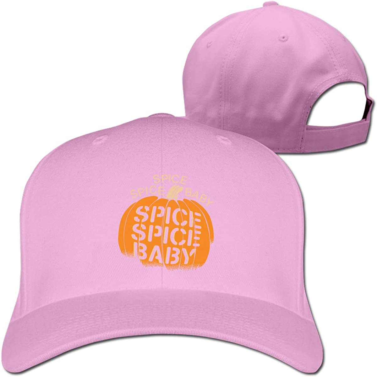 Spice Spice Baby Unisex Pure Color Baseball Cap Classic Adjustable Ball Hat