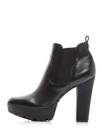 GUESS Botines para Mujer Zapatos de Tacón Alto 40 EU Negro: Amazon.es: Zapatos y complementos