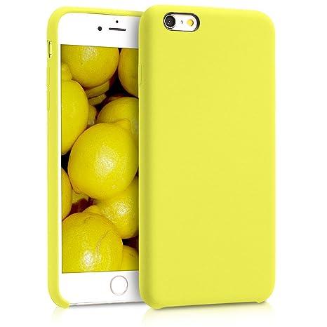 kwmobile coque apple iphone 6/6s jaune