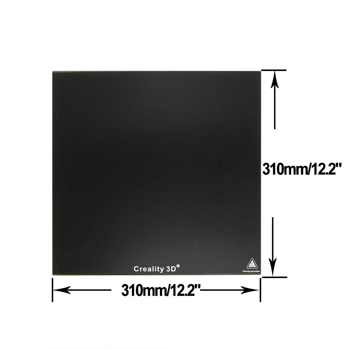 Wisamic 3d Drucker Glasplatte Oberfläche Hartglas Für 3d ... 220 X 220 X 3 Mm