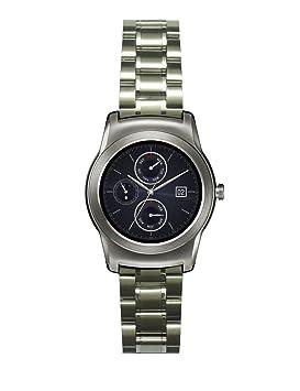 @ccessory 22mm Correa de Reloj de Acero Inoxidable liberación rápida para el LG Watch Urbane W150 Plata