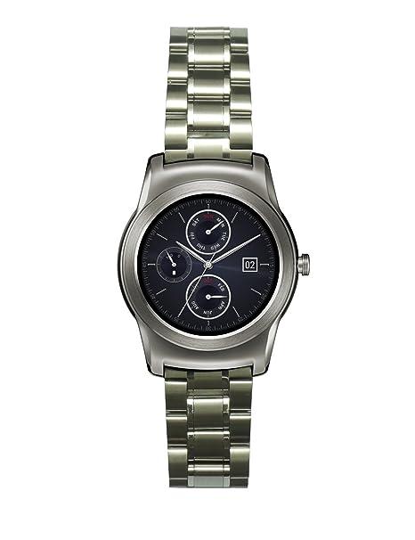 22mm de Metal de acero inoxidable reloj correa de la banda + herramienta para el LG