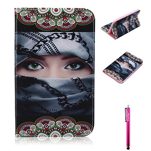 Galaxy-Tab-3-Lite-70-Case-Premium-PU-Leather-Wallet-Case-Card-Slots-Kickstand-Feature-Cover-for-Samsung-Galaxy-Tab-3-70-Lite-T110T111T113T116