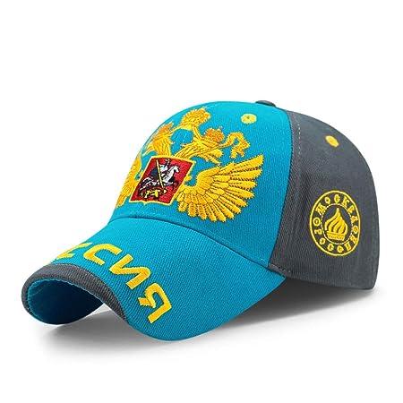 Gorra de béisbol masculino y femenino dorado doble cabeza de ...