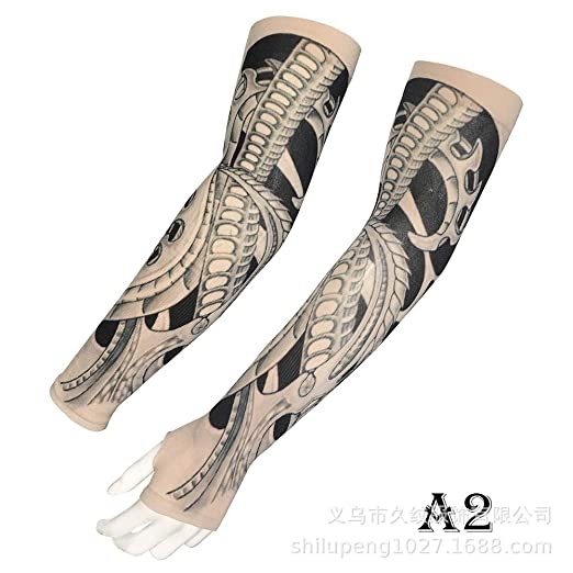 tzxdbh Nuevo Guan Gong Tattoo Manga de Hielo Impresión Digital de ...