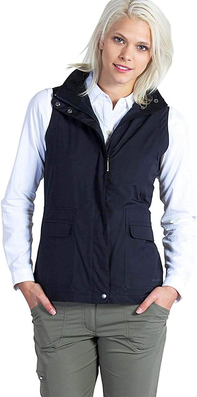 Women's Travel Vest With Hidden Pockets