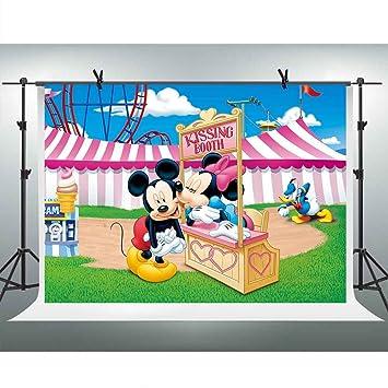 Amazoncom Fhzon 10x7ft Cartoon For Mickey Minnie Mouse