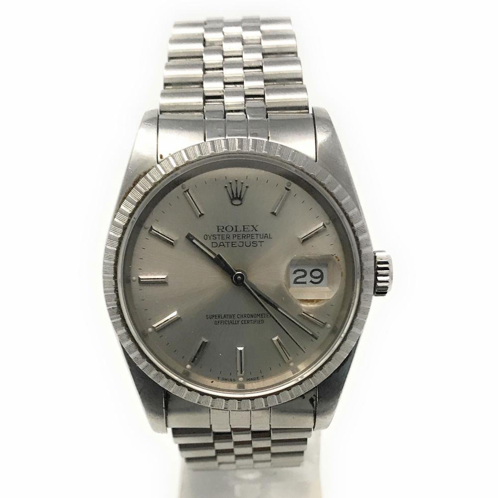 Rolex Datejust swiss-automatic mens Watch 16030 (Certified Pre-owned)
